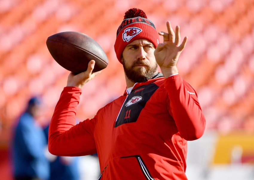Kansas City Chiefs Quarterback Change Could Be Coming In 2017
