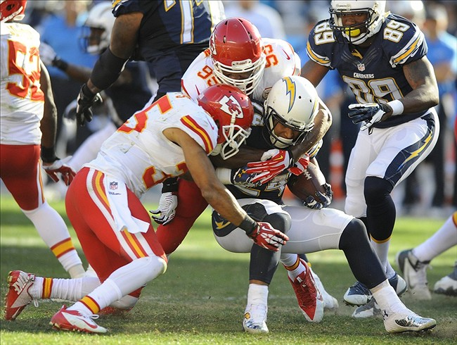 Kansas City Chiefs Vs San Diego Chargers Game 2 Chiefs