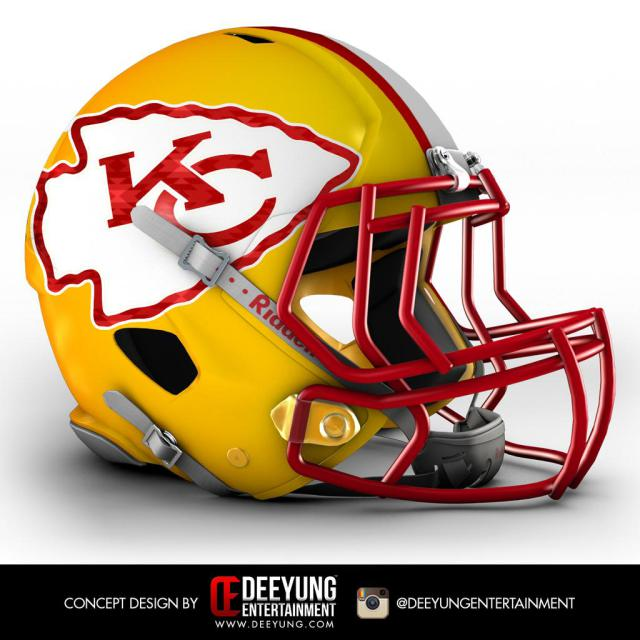 kc chiefs could the chiefs have a drastic new helmet design. Black Bedroom Furniture Sets. Home Design Ideas