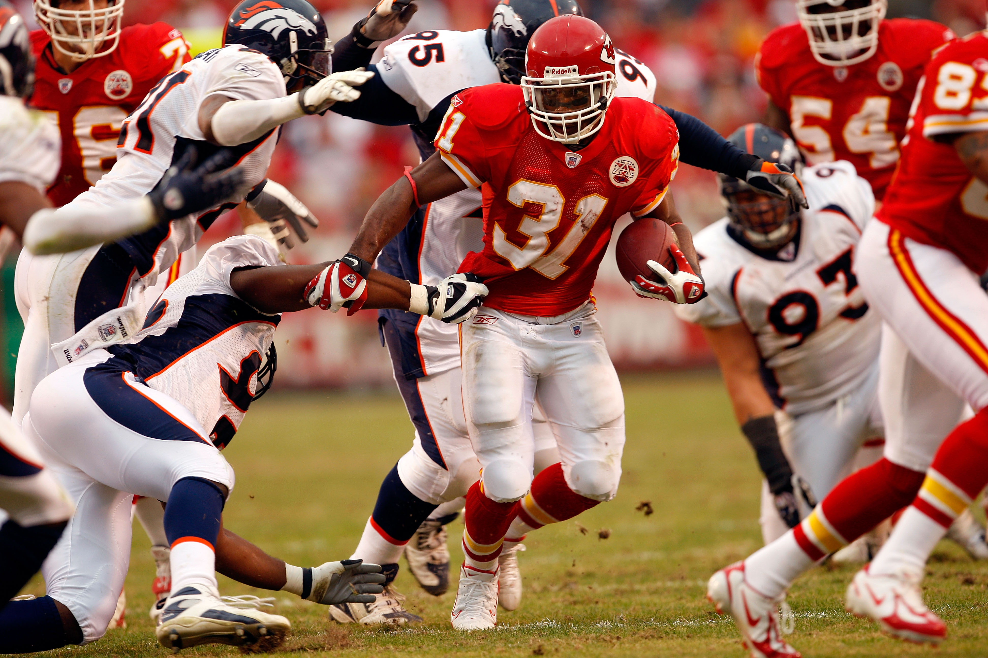 Chiefs: Kansas City Chiefs: All-Time Leaders In Rushing Touchdowns